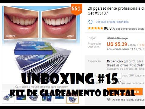 Unboxing 15 Kit De Clareamento Dental Com Review Aliexpress Jr