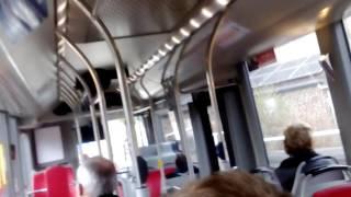 TEC Volvo 7900 Hybrid Bus Ride in Namur, Belgium (bumpy ride)
