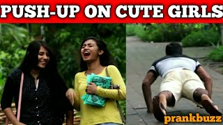 Push up  Prank With Girls - Prankbuzz