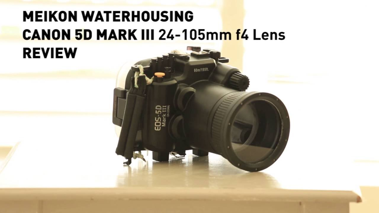 Meikon (SEAFROGS) Canon 5D Mark III Underwater Housing - Review
