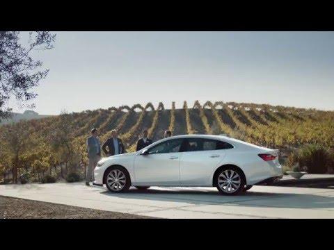 "The All New 2016 Chevrolet Malibu ""UnBadged"""