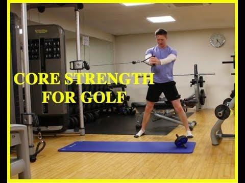 Basic Core Strength for Golf
