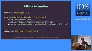 Swift Sync and Async Error Handling - iOS Conf SG 2015
