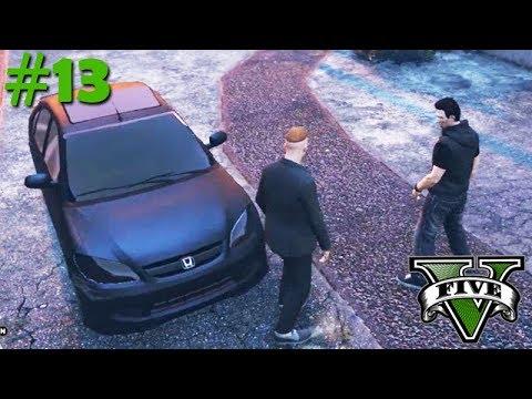 GTA V: BRASIL ROLEPLAY - ROUBARAM o MEU CARRO NOVO!! #13
