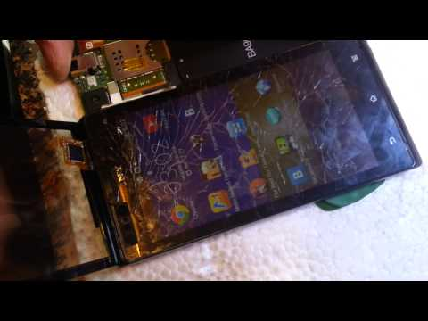 37. Замена тачскрина Sony Xperia J ST26i. Как разобрать? Ремонт телефонов