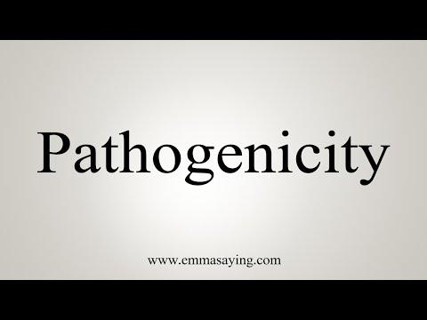 How To Say Pathogenicity
