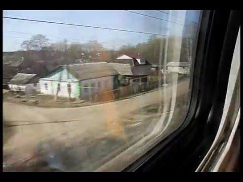 Поездка в двухэтажном сидячем вагоне поезда Воронеж - Москва
