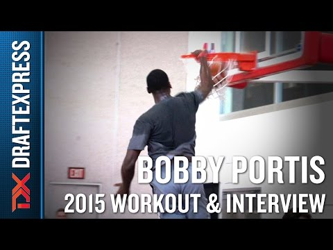 Bobby Portis 2015 NBA Draft Workout Video