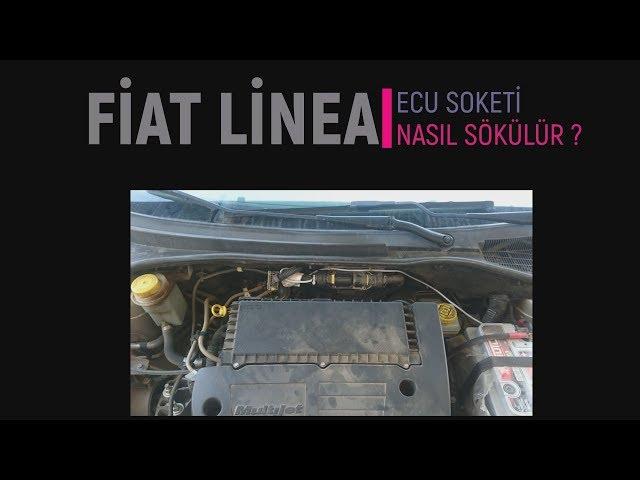 Fiat Linea ECU Soketi Nasıl Sökülür ?