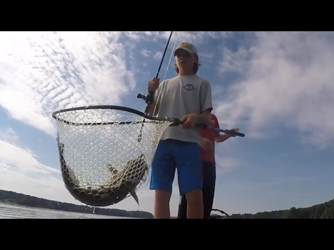 Lake Oconee Bass Fishing | Shaky Head Fishing