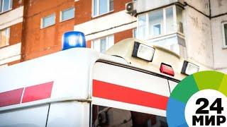 В результате обрушения здания в Минской области госпитализированы двое прохожих - МИР 24