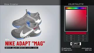 NBA 2K19 Shoe creator *#NBA2K19 NIKE