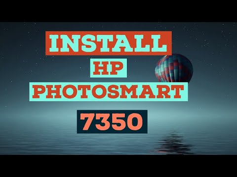 HOW TO DOWNLOAD AND INSTALL HP PHOTOSMART 7350 PRINTER DRIVER ON WINDOWS 10, WINDOWS 7 AND WINDOWS 8