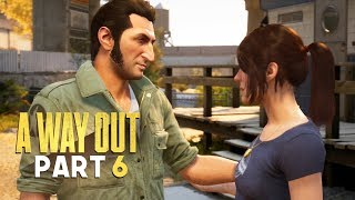 CHEATING HUSBAND CAUGHT IN THE ACT - A Way Out - Part 6 (Prison Break Escape Game)