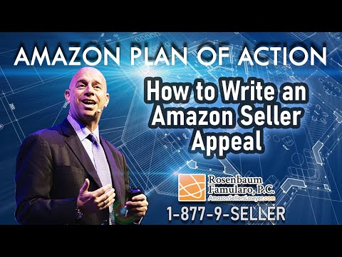 amazon plan of action how to write an amazon seller appeal