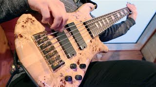"Pomegranate Tiger - ""Ocean - II. Maelstrom"" Bass Playthrough"