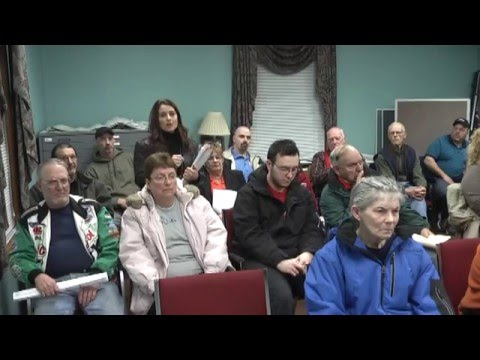 Champlain Town Board Meeting  3-8-16
