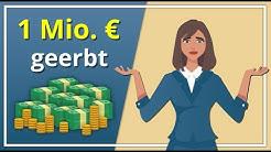 1.000.000 € geerbt - Was tun?