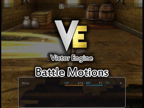 Animated Battle: Battle Motions | Victor Engine