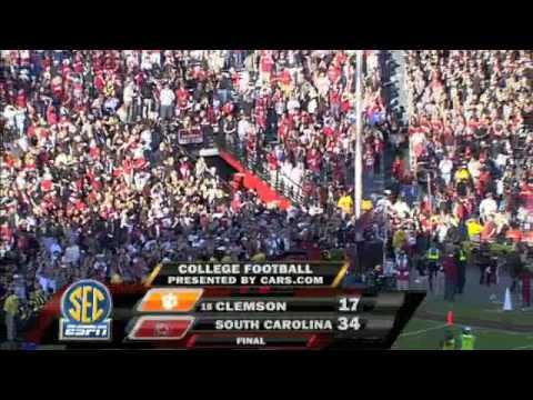 South Carolina vs. Clemson Highlights