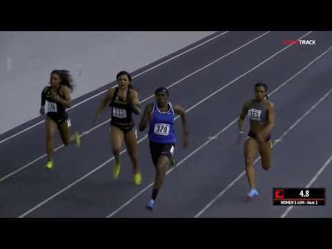 Brittney Reese Runs 7.31 And Takes Down Oregon Women In 60m