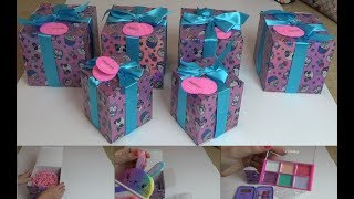What's inside- Claire's Surprise Birthday Box -Surprise 1