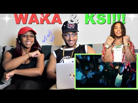 KSI - Jump Around ft. Waka Flocka Flame Reaction!!