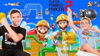 SWAN ET NÉO TESTENT SUPER MARIO MAKER 2 ! -  Nouveauté Nintendo Switch
