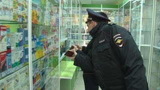 Сотрудники полиции выявили нарушения отпуска кодеиносодержащих лекарственных препаратов в аптеках