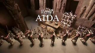 Anna Netrebko in Aida at the Metropolitan Opera