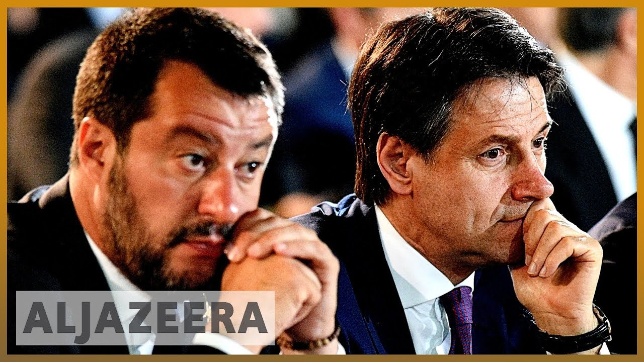 AlJazeera English:Italian PM Conte faces removal as Salvini flexes political muscle