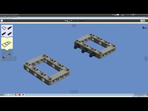 How To Make Good Building Instructions With The Lego Digital Designer Ldd Youtube