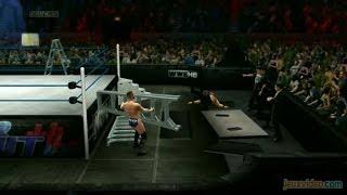 Gaming live WWE 2K14 Attaque d'échelles et brise-dos 360 PS3