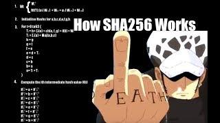 How Does SHA256 Work?