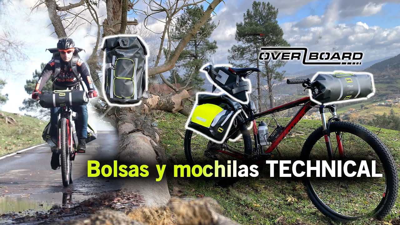 Overboard estanco bicicleta mochila velodry 20 litros bike backpack