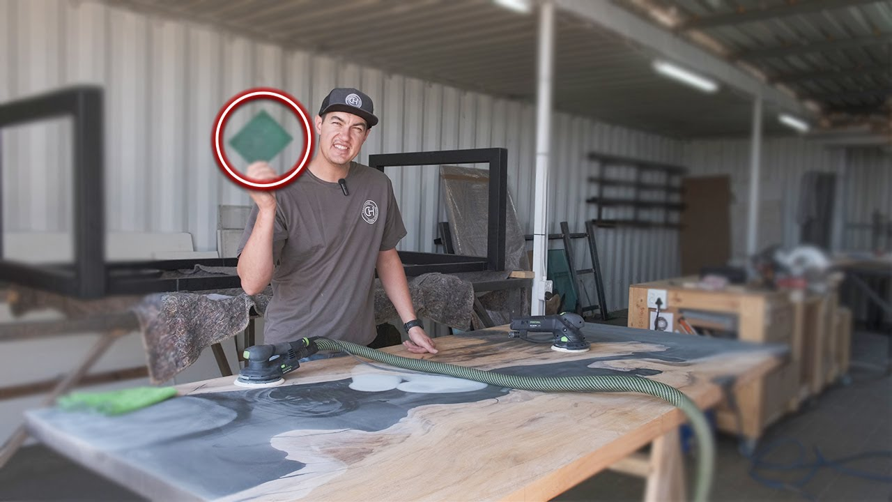 How To Sand Epoxy | Our Trade Secrets