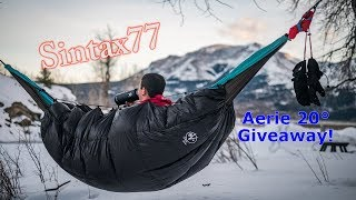 Giveaway! Underquilt / Sleeping Bag - Aerie 20 by Outdoor Vitals