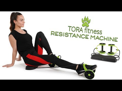 Tora Fitness Resistance Band Exercise Machine