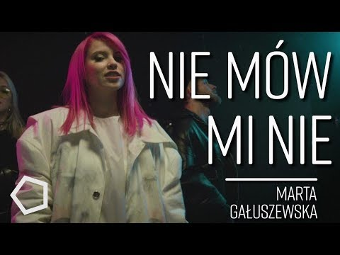 Nie mów mi nie - Marta Gałuszewska   MINT. cover