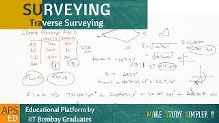 Traverse Surveying Calculations | Surveying thumbnail