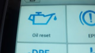 How to reset the oil reminder oil life reset using MaxiCom mk808