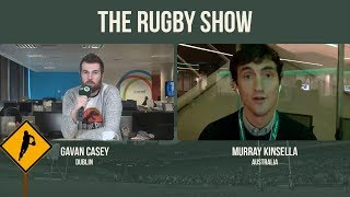 The Rugby Show: Reaction from Melbourne as Ireland set up series decider
