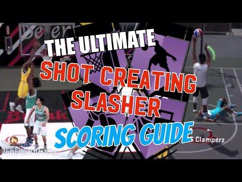 ULTIMATE SLASHER/SHOT CREATOR GUIDE! How to Use Shot Creating Slasher NBA 2K18 Scoring Full Tutorial