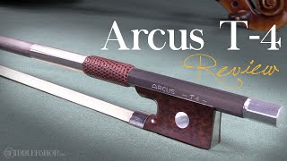 Arcus T4 Violin Bow Review from Fiddlershop