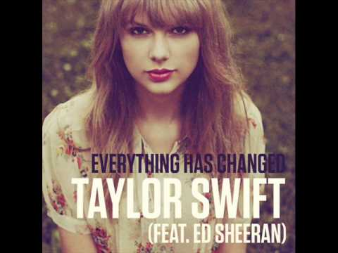 Chord gitar taylor swift everything has changed (feat. Ed.