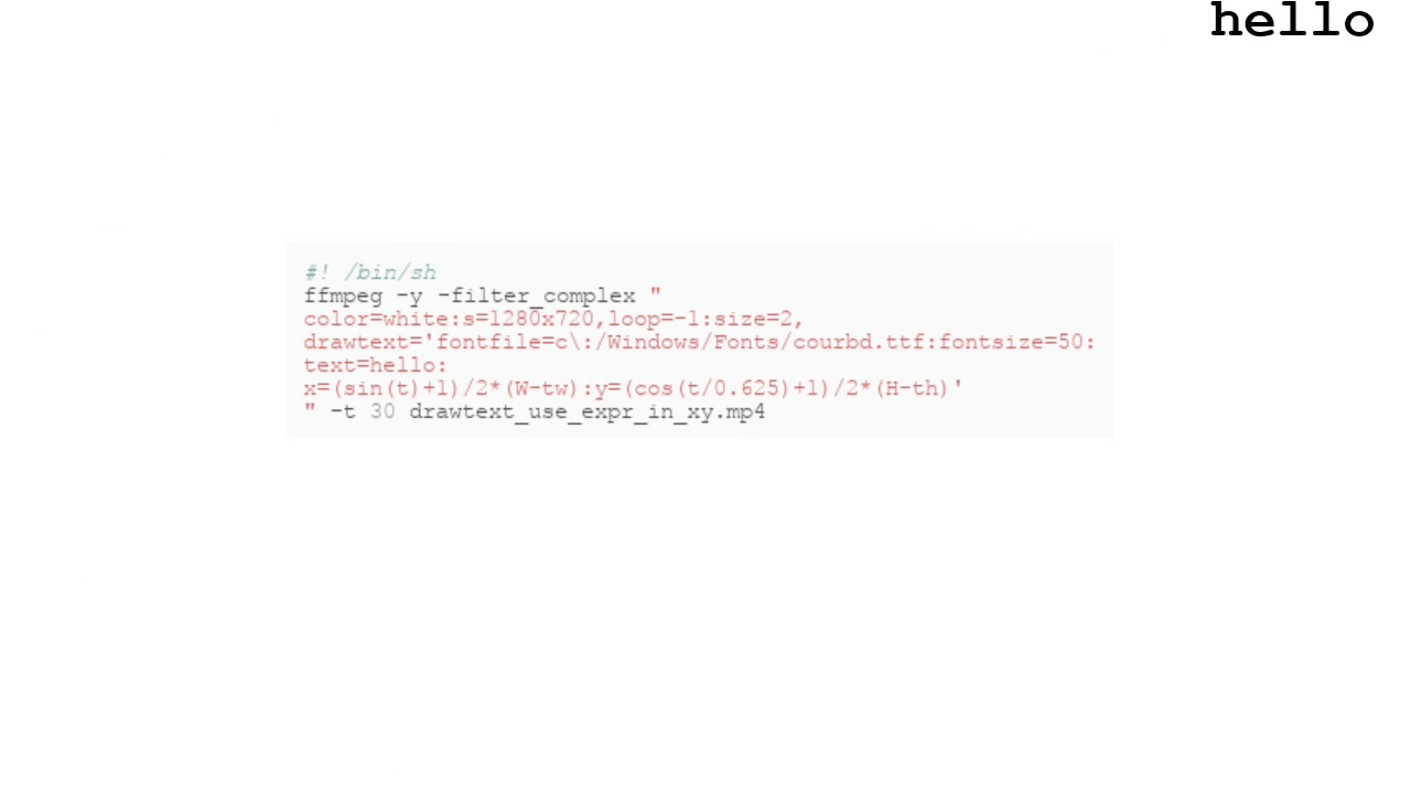 drawtext — ffmpeg examples