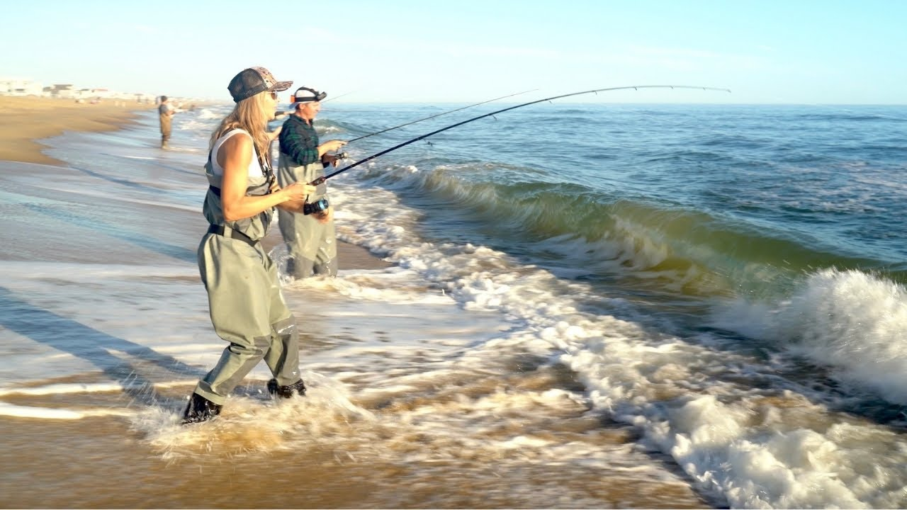 Easiest Way to Catch Big Fish on the Beach – How to Fish a Jig in the Surf