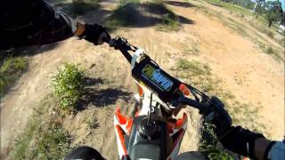 Secret MX/SX Track GoPro HD chestcam honda 2008 crf250r 2010 crf450r whoops stutters  motocross