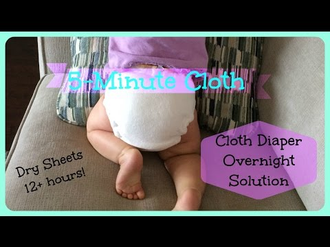 Overnight Cloth Diaper Solution