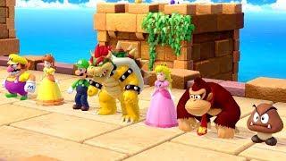 Super Mario Party - All Survival Minigames